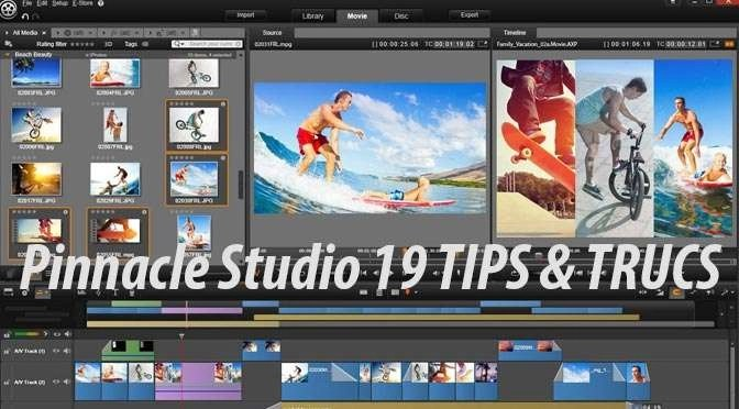 Tips voor Pinnacle Studio 19: Belichting corrigeren