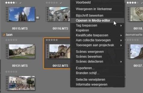 Tip3afb5 Een clip of afbeelding vanuit de bibliotheek bewerken voor toevoeging aan de montage.