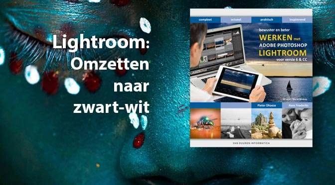 Lightroom: Omzetten naar zwart-wit