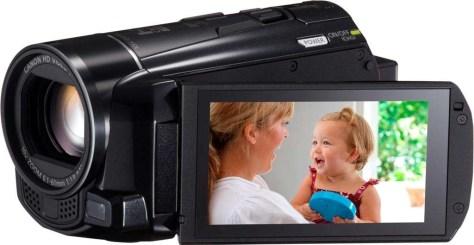 Een eenvoudig instapmodel videocamera (bron: Canon).