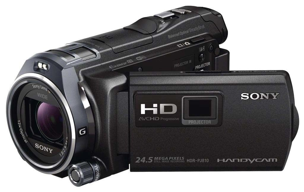De middenklasse videocamera voor de gevorderde videohobbyist (bron: Sony Corporation).