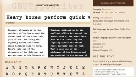 Lettertypen voor Windows 10