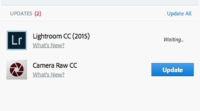 Updates voor Lightroom en Adobe Camera Raw