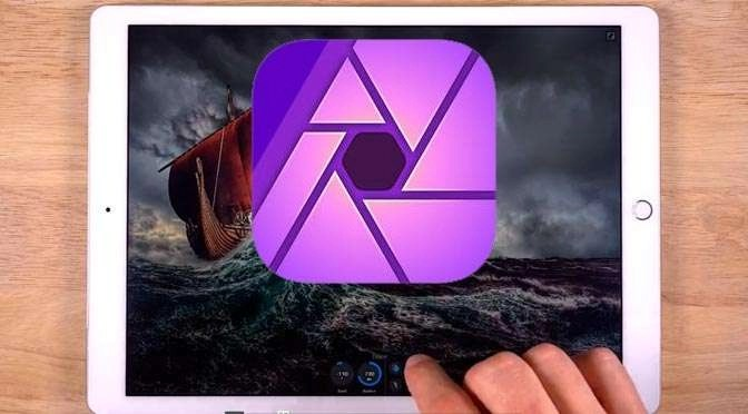 Affinity Photo op de iPad
