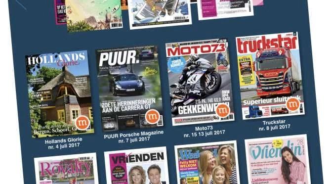 Lees tijdschriften op je tablet