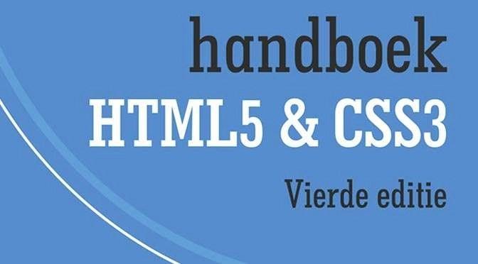 Hansboek HTML5 & CSS3