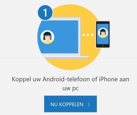 Je telefoon en PC koppelen