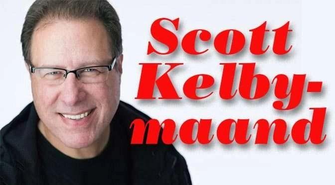 Auteur van de maand: Scott Kelby