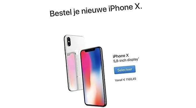 Trekt Apple stekker uit iPhone X?