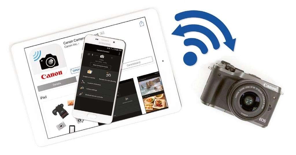 wifi en Canon EOS