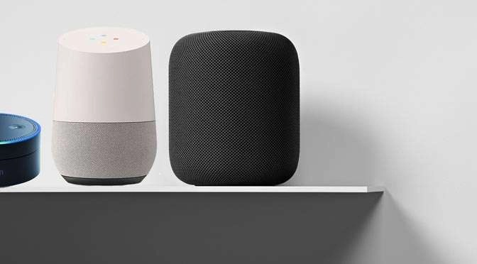 De Apple HomePod is een dompod