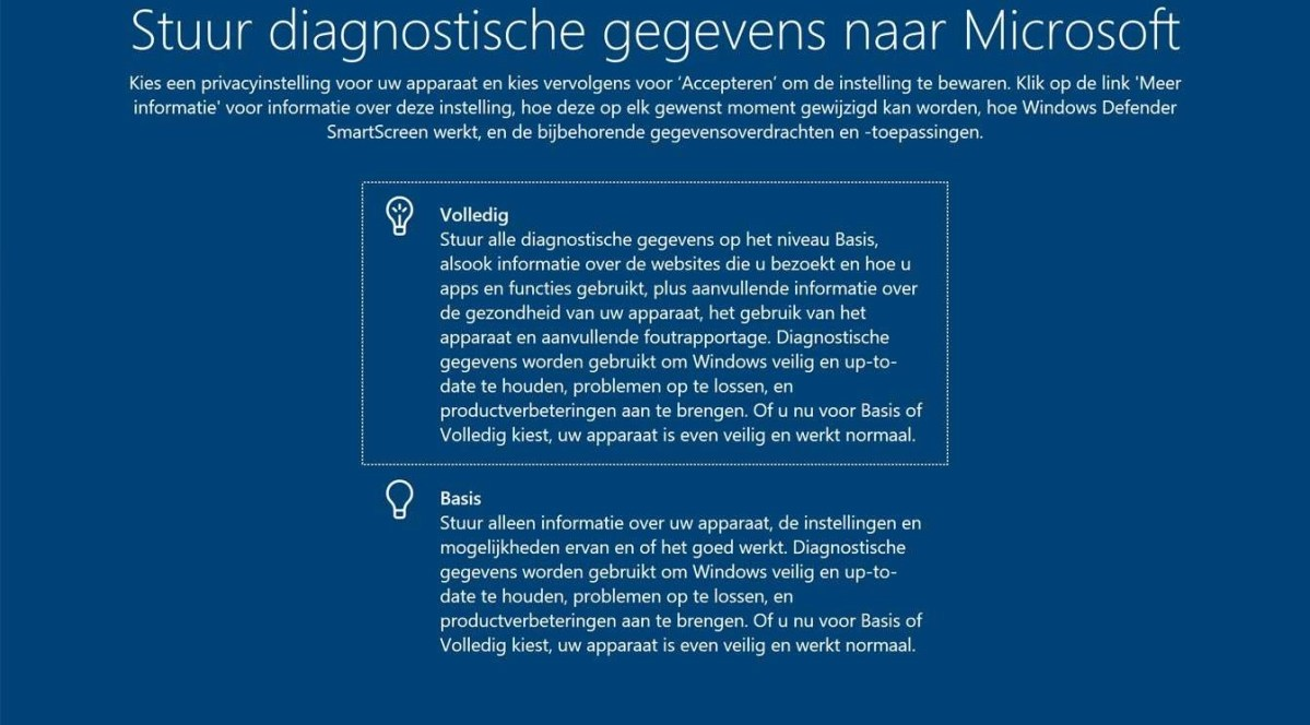 Privacy-instellingen in Windows 10