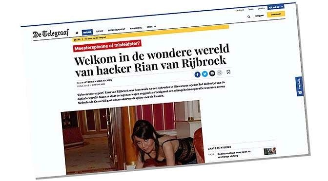 Kaspersky versus Vermeend en Telegraaf