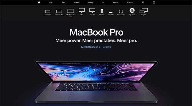 Apple presenteert nieuwe Macbook Pro