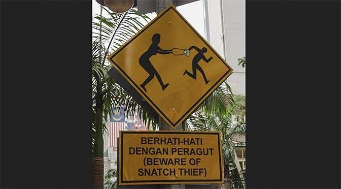 Grote hack bij Persgroep (bron afbeelding: https://commons.wikimedia.org/wiki/File:Kuala_Lumpur_Malaysia_Beware-of-snatch-thief-sign-01.jpg)