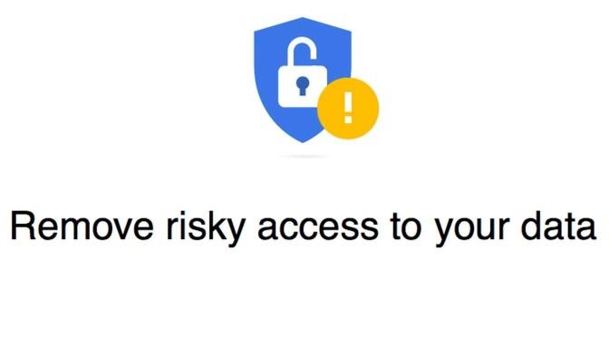 Security events en Third-party access bij je Google Account