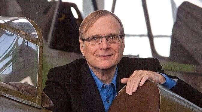 Paul Allen overleed gisteren op slechts 65-jarige leeftijd (bron afbeelding: https://commons.m.wikimedia.org/wiki/File:Paul_G._Allen.jpg#mw-jump-to-license)