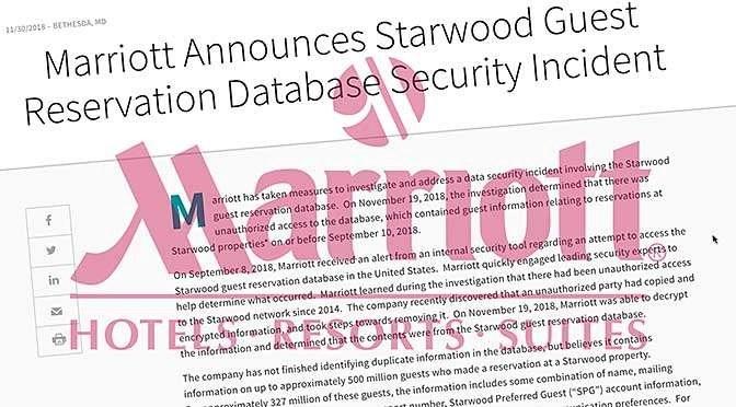 Gigantische hack Marriott