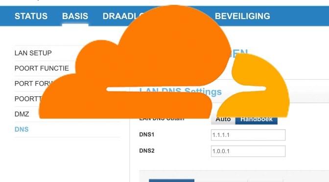 Meer privacy en sneller internet? Misschien met Cloudflare DNS…