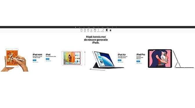 Verrassing: nieuwe iPad's