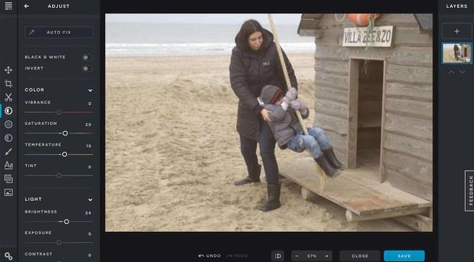 Foto's bewerken op een Chromebook
