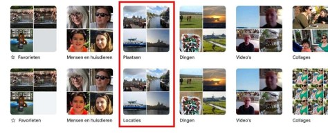 Google Foto's op iOS en Android