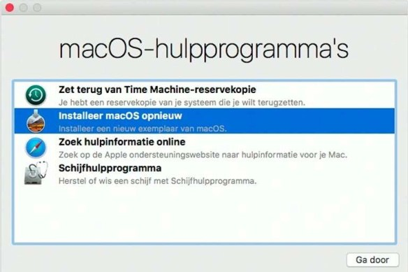 backups met Time Machine