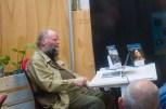Eduard de Kam tijdens zijn mini-boektraining.