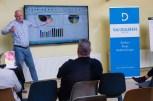 Wim de Groot tijdens zijn mini-boektraining over Excel.