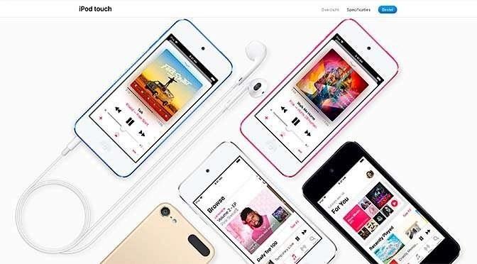 Ineens is er een nieuwe iPod Touch