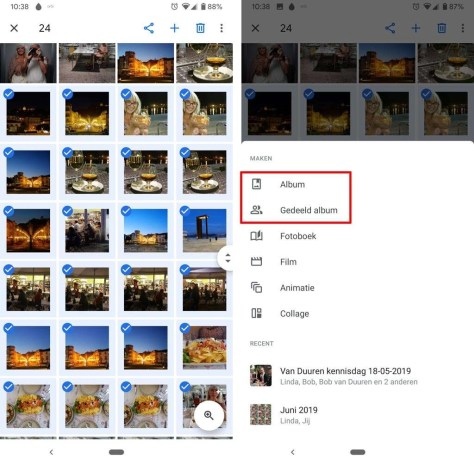 Vakantiefoto's met elkaar delen met Google Foto's