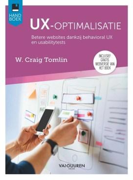 cover van boek UX-optimalisatie