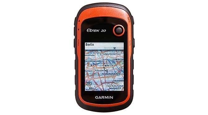 Die aloude handheld GPS