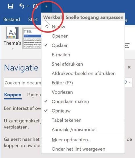 Leer jezelf snel Microsoft Office 2019