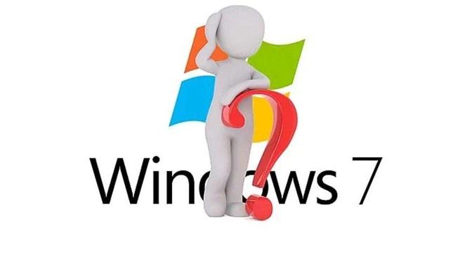 einde van de support van Windows 7