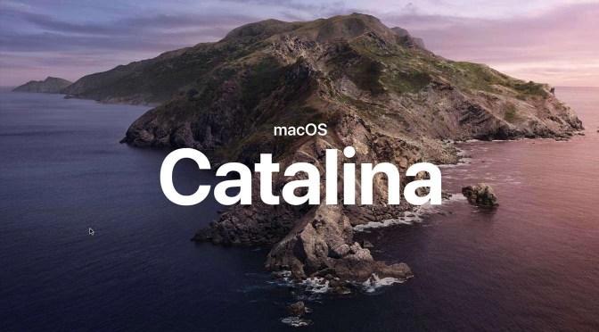 Upgrade naar macOS Catalina: operatie geslaagd!