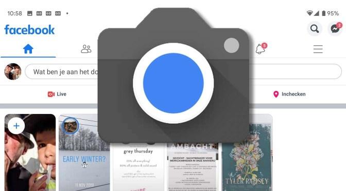 Facebook en de camera op je Android-telefoon