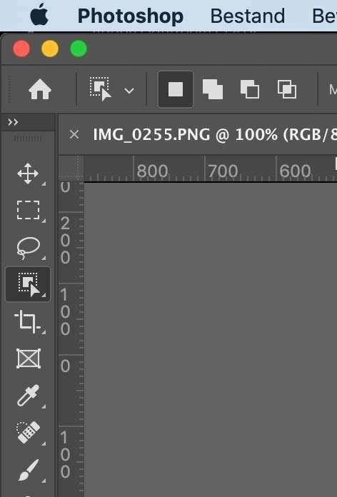 Object selecteren niet te zien in Photoshop