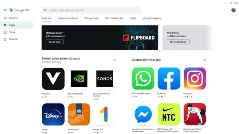 Apps uit de Google Play Store op je Chromebook gebruiken