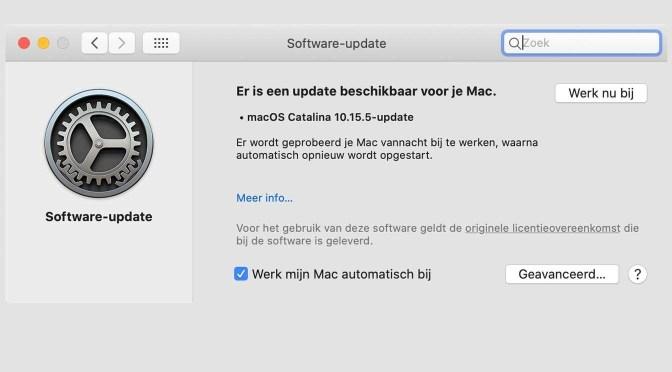 Belangrijke veiligheidsupdates van Apple