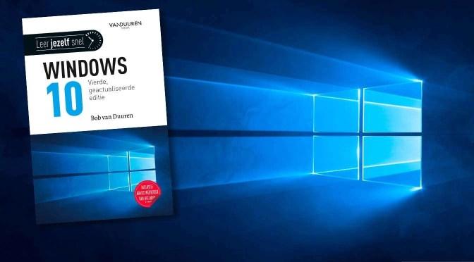 Windows 10 2004 alweer beschreven in boek