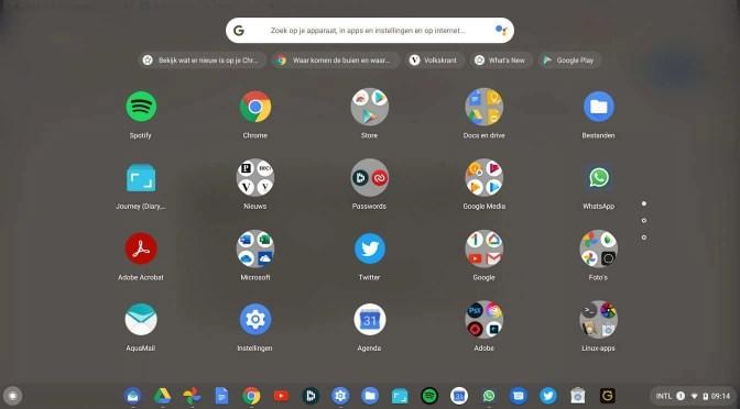 Apps beheren op je Chromebook