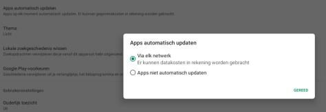 Android automatische app-updates