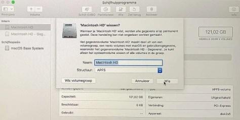 macOS herstellen