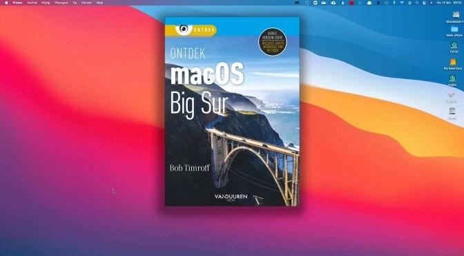 Nieuw in macOS Big Sur