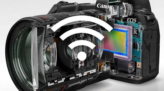 Een Canon EOS camera verbinden via wifi of bluetooth