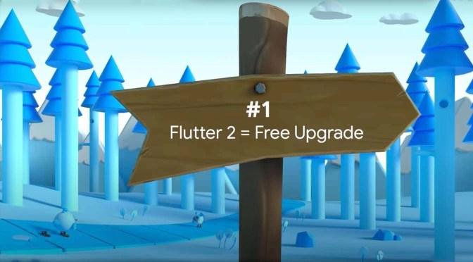Een grote update voor Flutter: Flutter 2.0