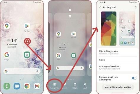 verander de achtergrond op je Android-telefoon