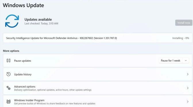 Updates voor Windows 11 op ongeschikte computers