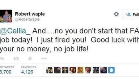 Fue despedida antes de su primer día de trabajo... ¡vía Twitter!